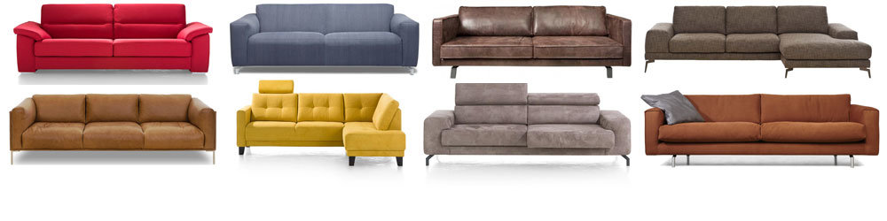 Ruime keuze aan zitcomfort bij Kubus Wonen in Culemborg in diverse stijlen en mogelijkheden....