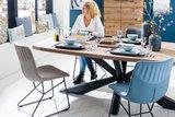 eetkamerstoel, licht, blauw, antraciet, taupe, kleur, kunstleder, stof, miami, happy at home, kubus wonen, culemborg