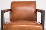 moco, fauteuil, easy, chair, kubus, wonen, industriële, fauteuils, kopen, rundleder, cognac