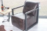 fauteuil, moco, 309, easy, chair, industrieel, fauteuil, kubus, wonen, culemborg, buffel, leder, leer,