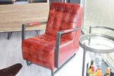 fauteuil, rock, leer, light, brown, fauteuils, fauteuil, kopen, dgb, agenturen, buffelleder, kubus, won