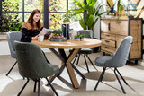 brooklyn dressette 37134 ovada eetkkamertafel rond ronde tafel happy at home