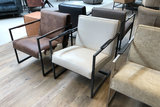 koeienhuid fauteuil bibi het anker meubelen kubus wonen culemborg
