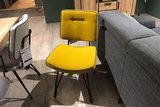 eetkamerstoel bruce stoel stoelen eetkamerstoelen happy at home stof lana kubus wonen culemborg retro stof lana