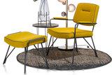 bruce fauteuil fauteuils loungestoel kubus wonen culemborg happy at home stof lana meubelstad culemborg woonwinkel