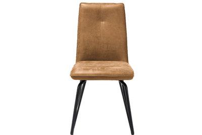 Cognac,eetkamerstoel,bella,eetkamerstoelen,stoel,bella,stoelen,happy@home,kubus,wonen,culemborg