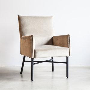 demi,fauteuil,sevn,stoel,stof,leder,kubus,wonen,culemborg,kopen,zitfauteuil,armleuning,