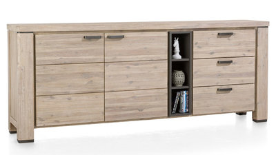 Coiba,dressoir,dressoirs,225cm,225,cm,tibet,grey,happy,at,home,happy@home,kubus,wonen,culemborg,woonprogramma