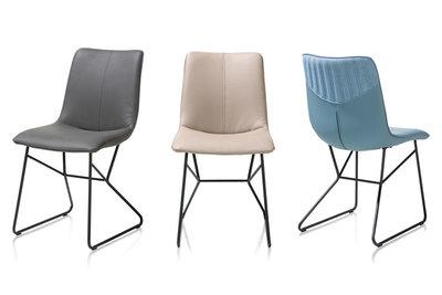 stoel, luke, eetkamerstoel, luke, eetkamerstoelen, tatra, kunstleder, kubus,wonen,culemborg,