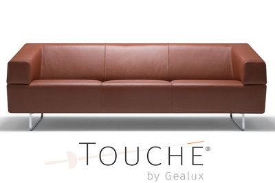 diablo, touche, gealux, cognac, kleur, leder, leer, kubus wonen, culemborg, toucheplaza, touche, store, diablo, 3 zits,