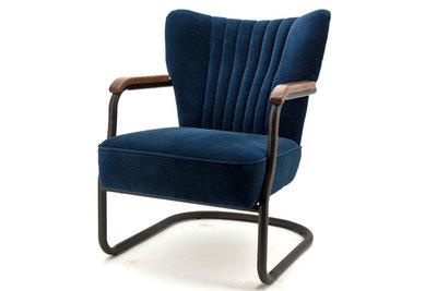 fauteuil,milu,blauw,velours,stof,eleonora,fauteuils,swingframe,kubus,wonen,culemborg,meubelstad,fauteuils,stoel,bijzetfauteuil,