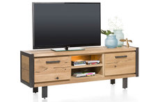 brooklyn 37137 lowboard 170 cm tv kast eiken kubus wonen culemborg happy at home
