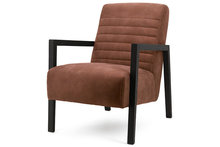 cherokee,cognac,hout,armleuning,kubus,wonen,eleonora,fauteuil,stoele,fauteuils,stoelen,kubus,wonen,culemborg